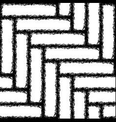 seamless herringbone texture of the carpet vector image vector image