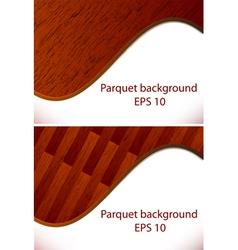 parquet wooden patterns vector image