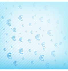 background with euro sign EPS10 vector image