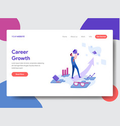 career development vector image
