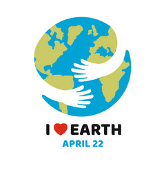 earth day april vector image