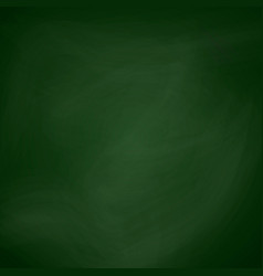 empty blackboard dark green color chalkboard vector image