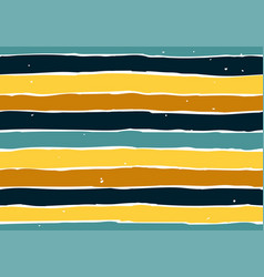 Endless pattern with colorful stripes art vector