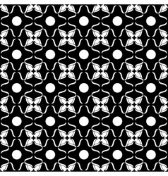 Flower seamless pattern 02-10 vector image