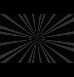 pop art vintage radial halftone background vector image