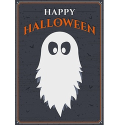 Happy halloween poster vector image vector image
