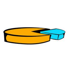 Pie chart icon icon cartoon vector
