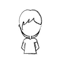 Avatar boy icon vector