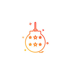 carnival icon design vector image