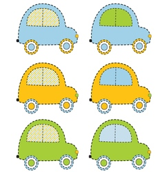 Scrapbook Cars vector