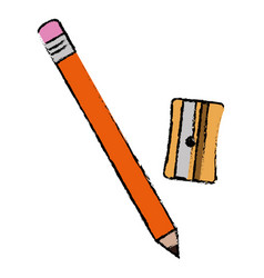 sharpenner school with pencil vector image