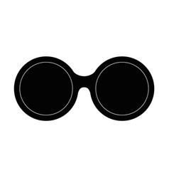 Sunglasses summer isolated icon vector