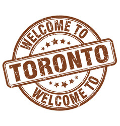 Welcome to toronto vector