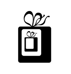 gift inside gift icon wrapped present wit vector image vector image