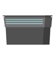 empty table or counter cartoon vector image