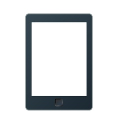 a portable modern tablet pc e-book vector image