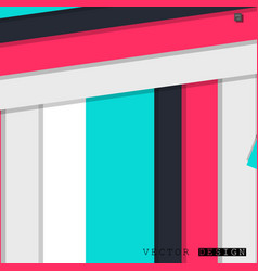 abstract design with a background of colorful vector image