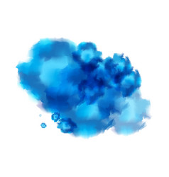 Abstract ink water background vector