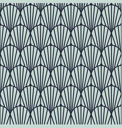 Art deco vintage geometric seamless pattern vector