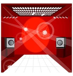 Club dance floor vector