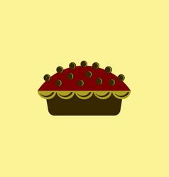 delicious pie vector image