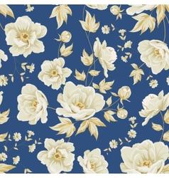 design vintage floral pattern vector image