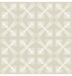 linear art deco pattern with barely visible lines vector image