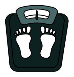 scale weight measure icon vector image