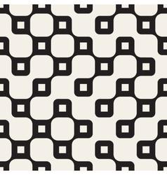 Seamless Black And White Irregular Wavy vector image