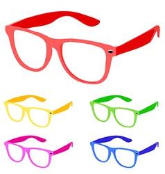 sunglasses vector image vector image