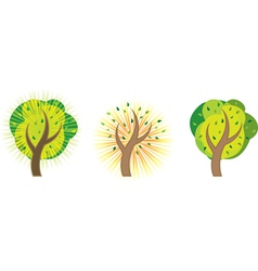 Abstract tree EPS 10 vector