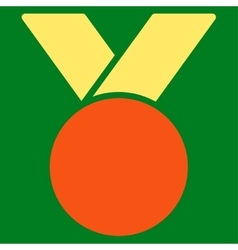 Army medal icon from Competition Success Bicolor vector