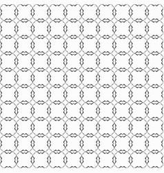 Black modern wavy shared circles pattern on white vector