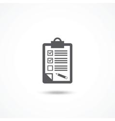 Feedback icon vector image