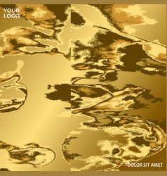 gold marble texture abstract background graphic vector image