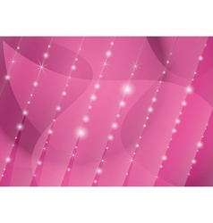 parallel lines of stars on the crimson background vector image