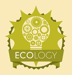 Save planet design vector