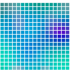 Turquoise blue purple rounded mosaic background vector