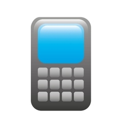 cell phone design vector image