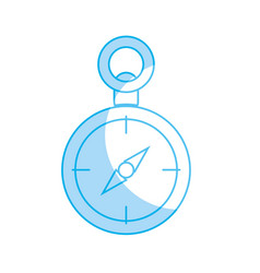 Silhouette compass to know the direction of vector