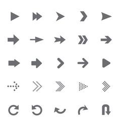 Set of universal arrows vector