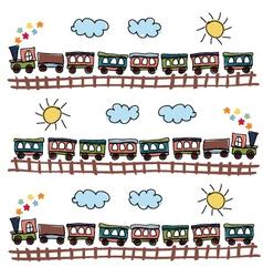 Train pattern vector