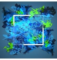 Abstract frame design Concept cover for vector image