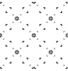 Black and white aspect pixel perfect with vector