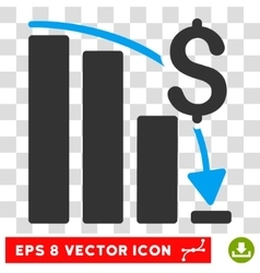 Financial Crisis Eps Icon vector
