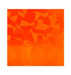 Fire Red Abstract Low Polygon Background vector