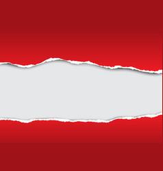 Torn paper background design vector