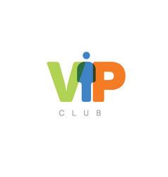 vip club vector image