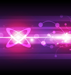 abstract particle background vector image vector image