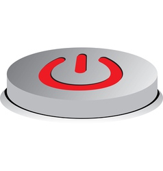 button on vector image